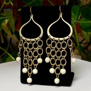 Vintage Brass Gypsy Dangle earrings